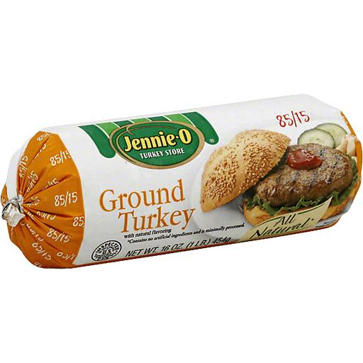 Jennie O Ground Turkey 85 15 Tube Ground Turkey Burgers Miller And Sons Supermarket