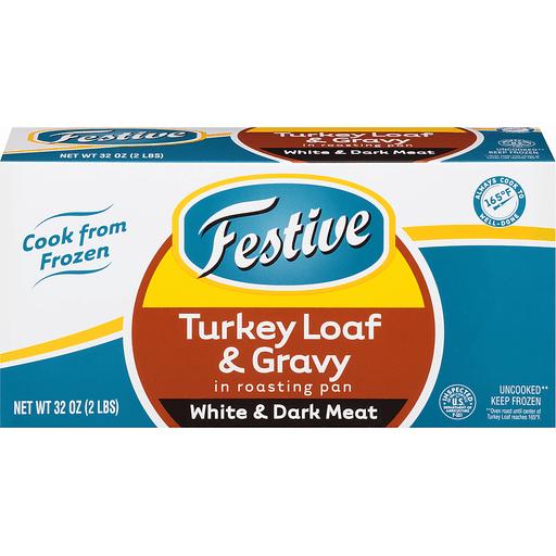 Jennie O Lean Turkey & Gravy in Roasting Pan, White & Dark