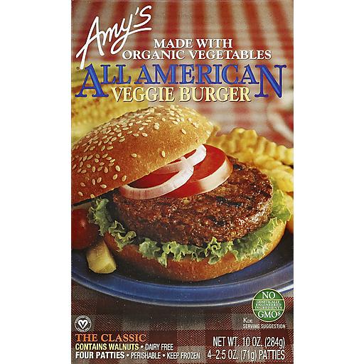 Amy's Organic All American Burger