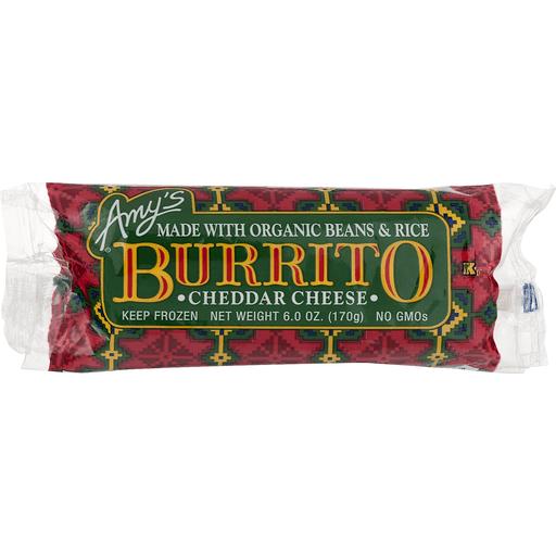 Amys Burrito, Cheddar Cheese