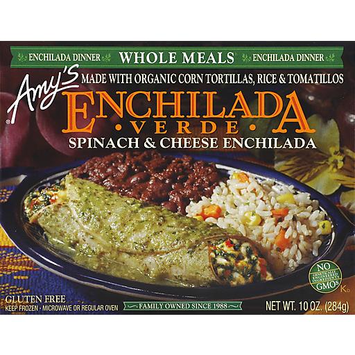 Amy's Enchilada Verde Meal
