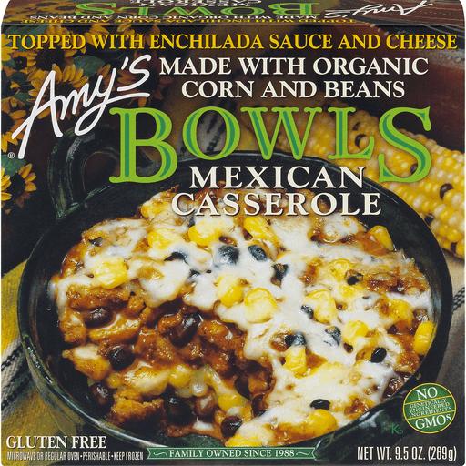 Amys Bowls Mexican Casserole