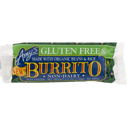 Amys Burrito, Gluten Free, Non-Dairy