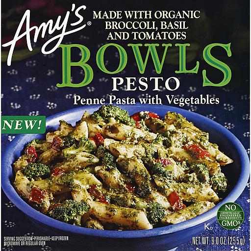 Amy's Pesto Penne & Veggie Bowl