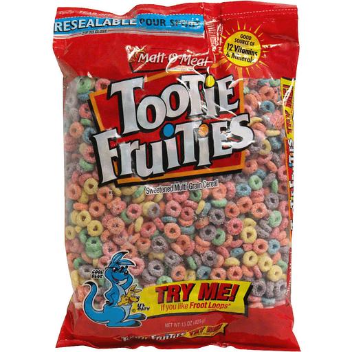 Malt O Meal Tootie Fruities   Sooners