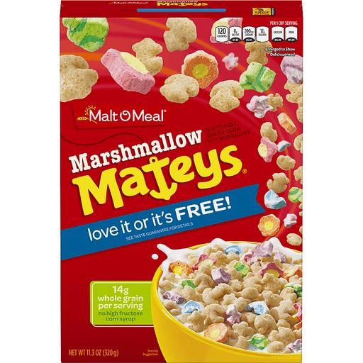 Malt-O-Meal® Marshmallow Mateys® Cereal 11.3 oz. Box