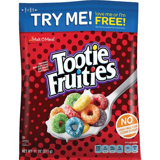 Malt-O-Meal Cereal Tootie Fruites