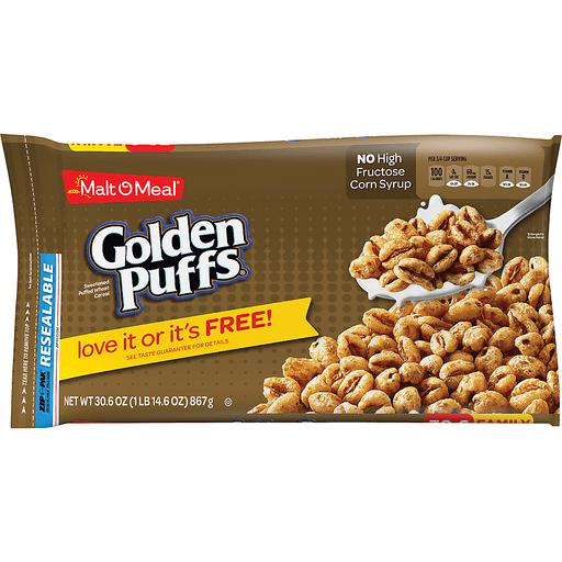 Malt-O-Meal Cereal Golden Puffs