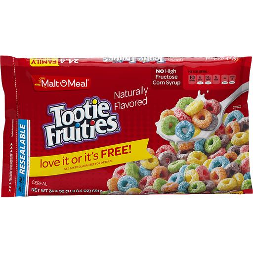 Malt-O-Meal Cereal Tootie Fruities