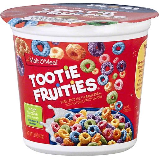 Cereal Snackers Cereal, Tootie Fruities