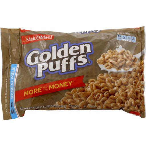 Malt O Meal Cereal, Golden Puffs