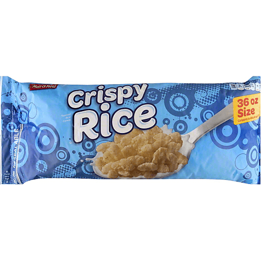 Malt O Meal Cereal, Crispy Rice