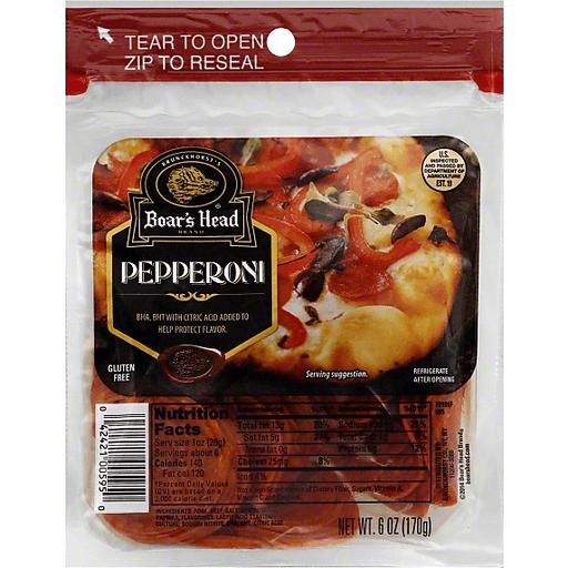 Boar's Head Pepperoni   Clements'