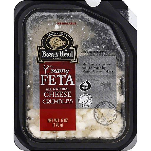 Creamy Feta Cheese, Crumbles