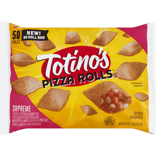 totinos pizza cook time