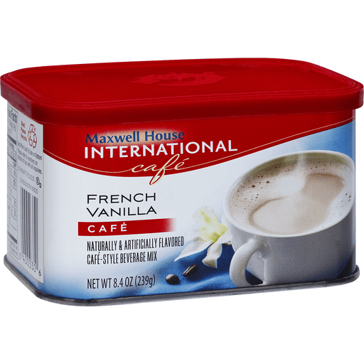 Maxwell House International French Vanilla Cafe Style Beverage Mix