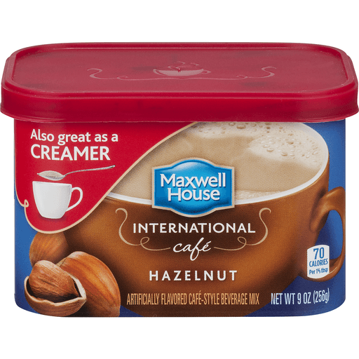 Maxwell House International Hazelnut Cafe Style Beverage Mix