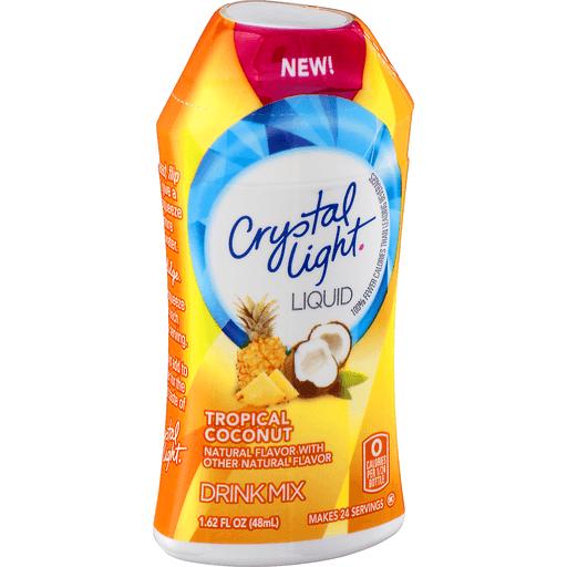 Crystal Light Drink Mix, Liquid, Tropical Coconut