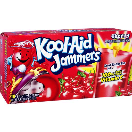 Kool Aid Jammers Drink, Cherry