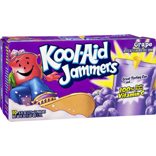 Kool Aid Jammers Drink, Grape