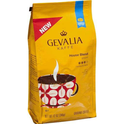 Gevalia Kaffe House Blend Ground Coffee Medium