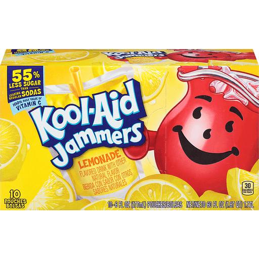 Kool-Aid Jammers Lemonade