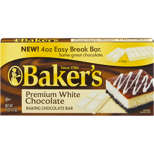 Baker's Premium Baking Bar White Chocolate