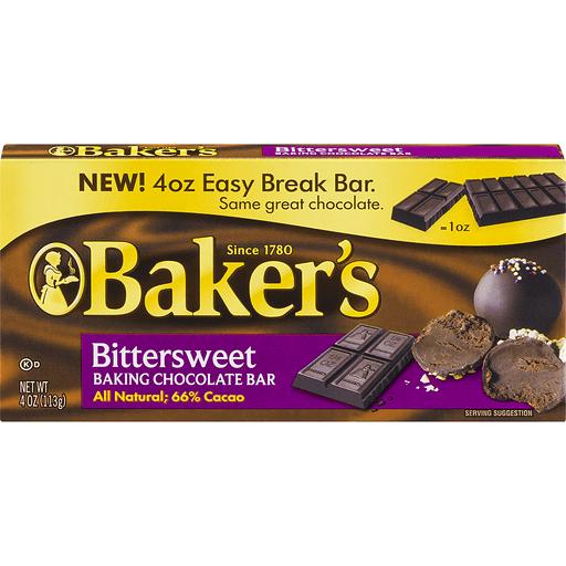 Baker's Bittersweet Chocolate Baking Bar