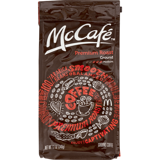 McCafe Coffee, Ground, Premium Roast, Medium