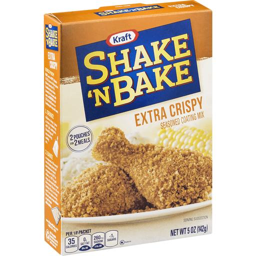 Shake N Bake Coating Mix, Seasoned, Extra Crispy