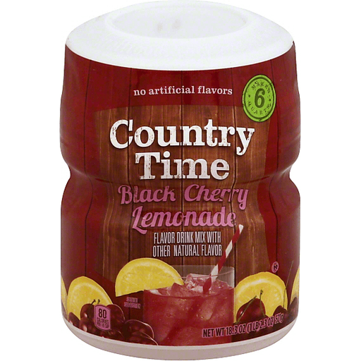 Country Time Drink Mix, Black Cherry Lemonade | Shop | BevMo