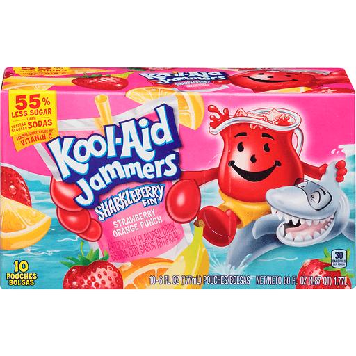 Kool-Aid Jammers Sharkleberry Fin Strawberry Orange Punch