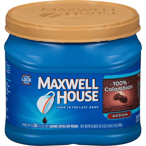 Maxwell House 100% Colombian Medium Ground Coffee