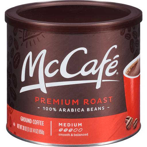 McCafe Ground Coffee Medium Premium Roast