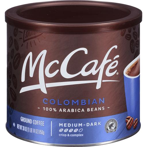 McCafe Ground Coffee Medium-Dark Colombian