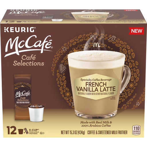 McCafe Cafe Selections Coffee & Sweetened Milk Frother