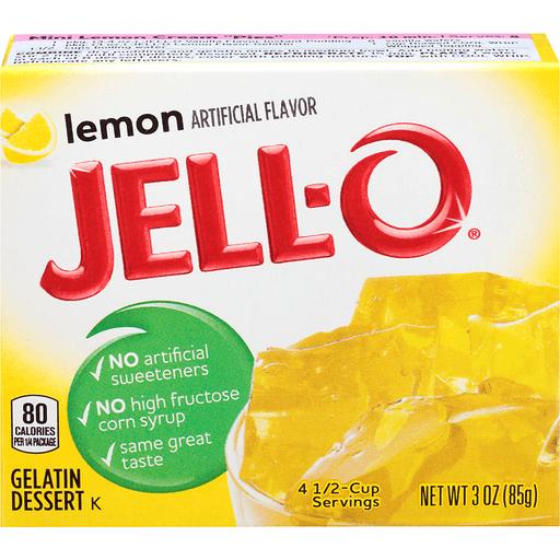 Jell-O Gelatin Dessert Lemon