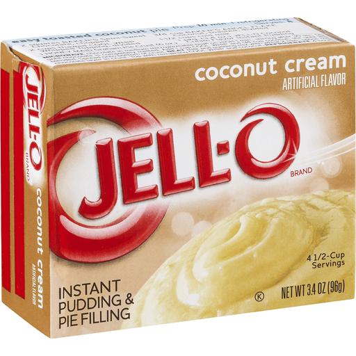 Jell-O Instant Pudding & Pie Filling Coconut Cream