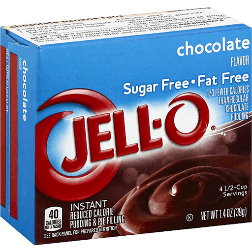 Jell O Pudding Pie Filling Reduced Calorie Instant Chocolate Flavor Jello Pudding Mix Sendik S Food Market