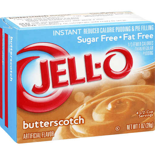 Jell-O Instant Pudding & Pie Filling Sugar Free Butterscotch
