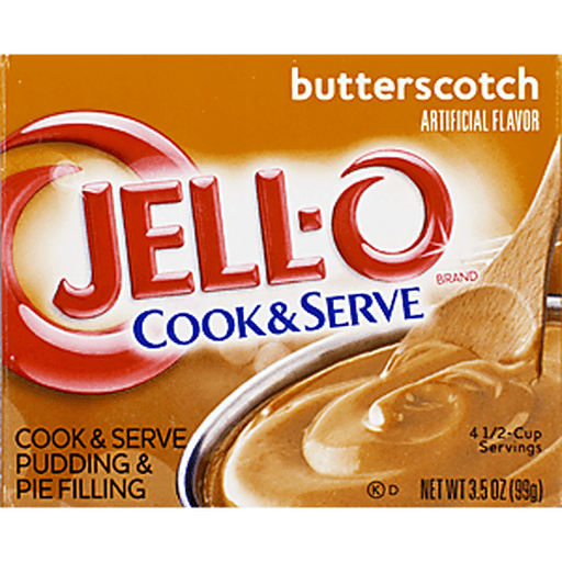 Jell-O Cook & Serve Pudding & Pie Filling Butterscotch