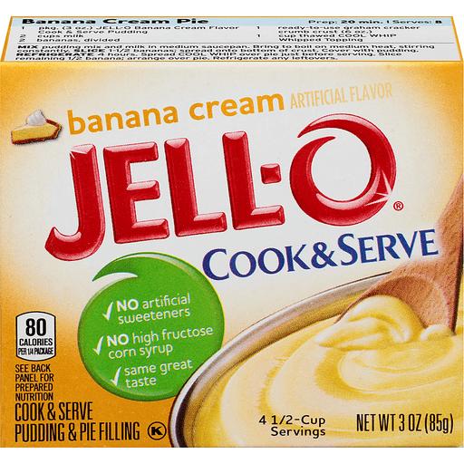 JELL-O Pudding & Pie Filling Banana Cream