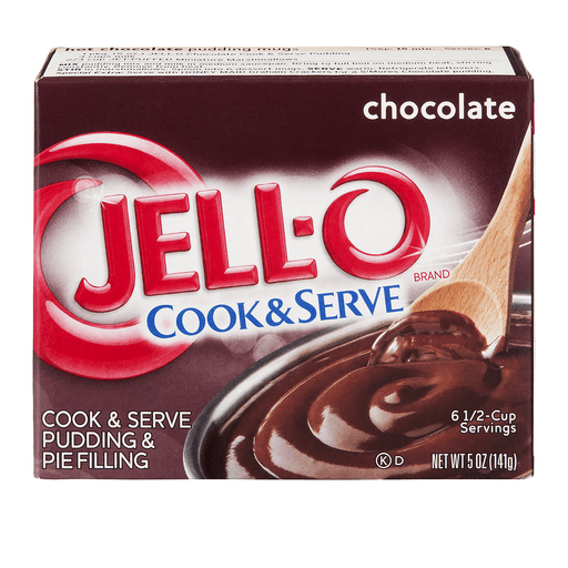 Jell O Cook & Serve Pudding & Pie Filling, Chocolate Flavor