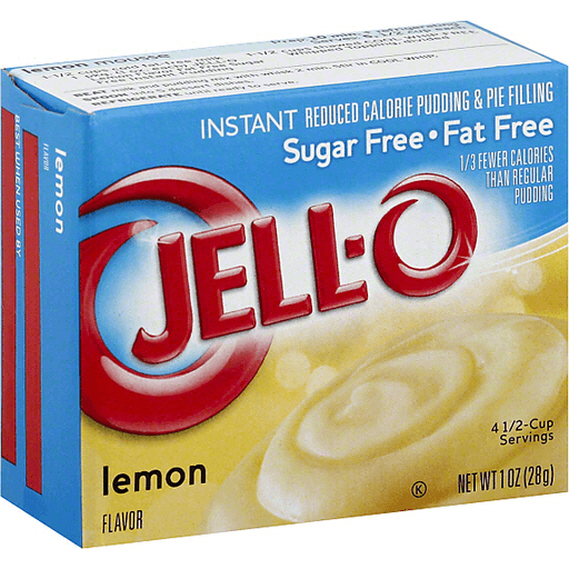 Jell O Pudding Pie Filling Instant Reduced Calorie Lemon Flavor Jello Pudding Mix Foodtown