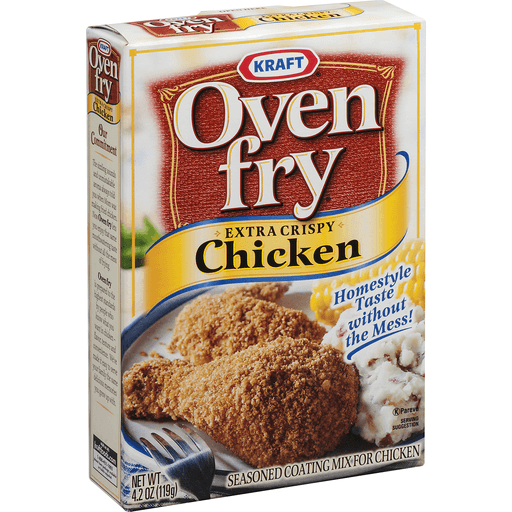 Kraft Oven Fry Extra Crispy Chicken Seasoned Coating Mix