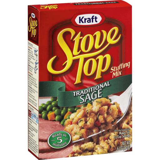 Kraft Stove Top Stuffing Mix Traditional Sage