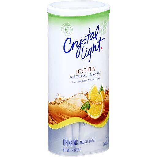 Crystal Light Drink Mix Lemon Iced Tea - 6 CT
