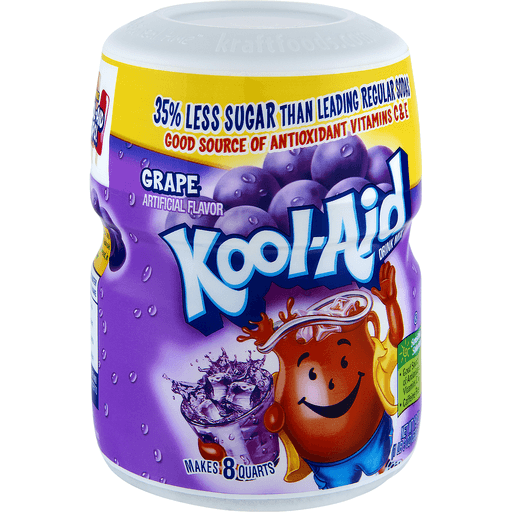Kool Aid Drink Mix, Grape