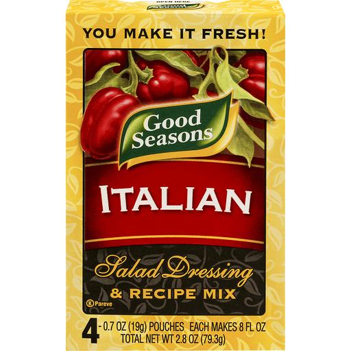 Good Seasons Italian Salad Dressing & Recipe Mix - 4 CT