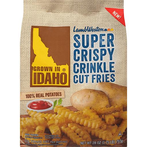 Lamb Weston® Super Crispy Crinkle Cut Fries 28 oz. Bag
